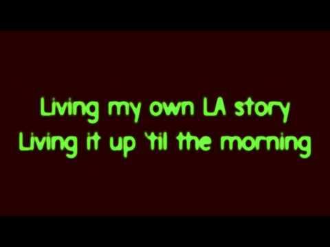 Sam Adams - LA Story [feat. Mike Posner] (w/LYRICS)