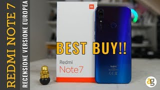 BEST BUY  Recensione XIAOMI Redmi Note 7