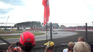 2011 F1 British Grand Prix - Formation Lap