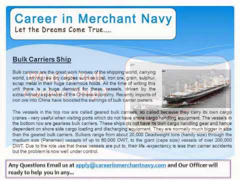 how to join bulk carriers ship in merchant navy