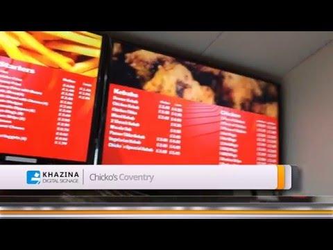 Digital Menu Board - LCD Menu Board - Customer Vidoes
