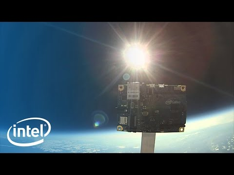 Galileo in Space! Off-The-Shelf Technology Sparks Maker Space Race | Intel