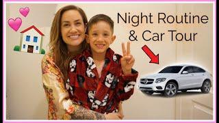 NIGHT ROUTINE + NEW CAR TOUR | Vlog