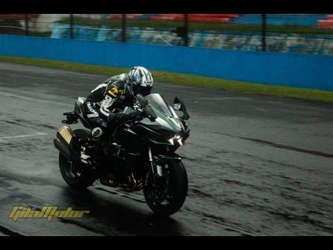 Suara Kawasaki Ninja H2 Bagai JET di Sentul indonesia
