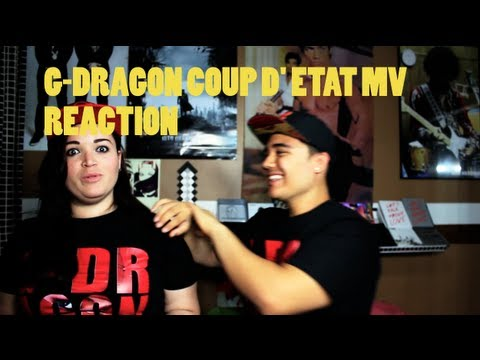 G-Dragon - COUP D' ETAT MV Reaction JREKML