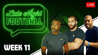Late Night Football Week #11 mit Coach Esume, Björn Werner & Kasim Edebali