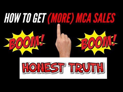 MCA  HOW TO GET MORE SALES TOP ASSOCIATE Alex Haney