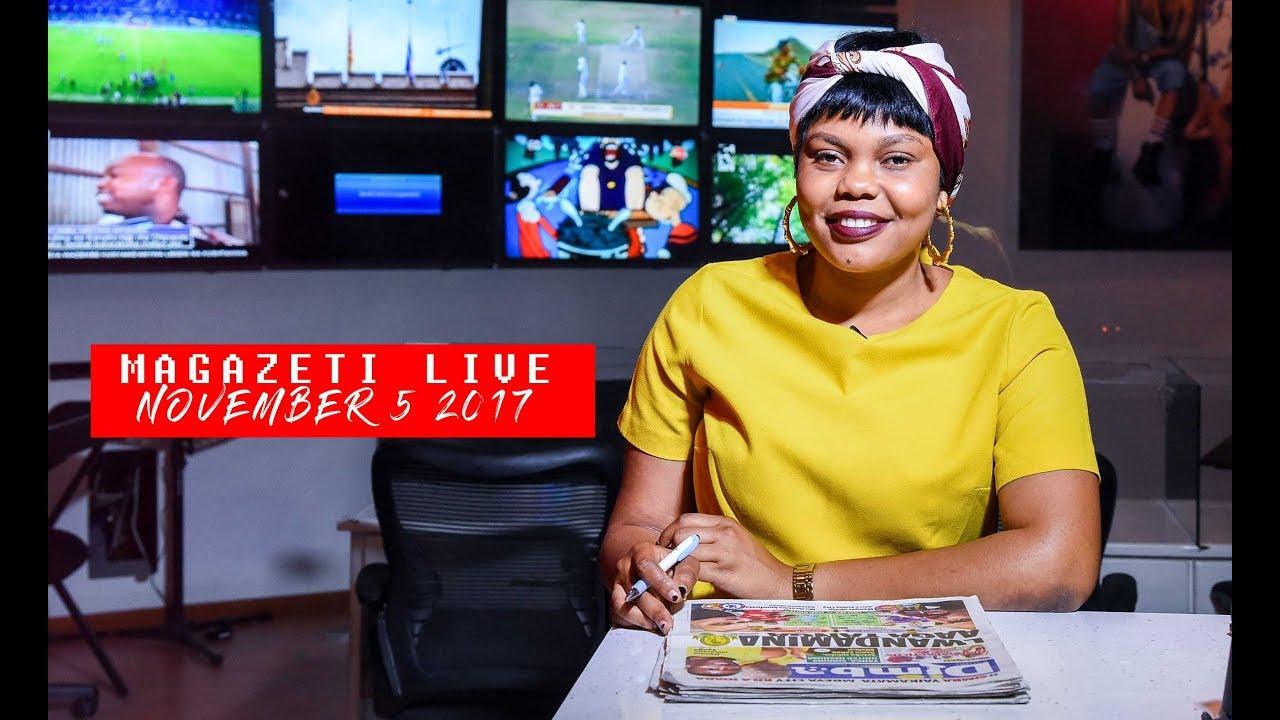 MAGAZETI LIVE: Ikulu yamfunda Rais Magufuli, Wafuasi 12 ...