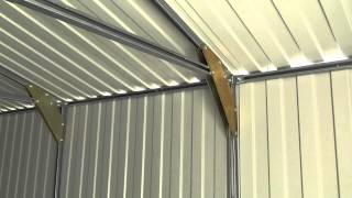 видео Строительство сарая: необходимые инструменты и материалы, сооружение своими руками