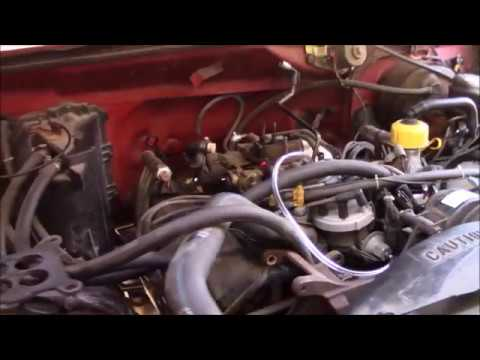 Ford 460 Emissions Delete - YouTube