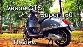 Vespa GTS 150 - Review