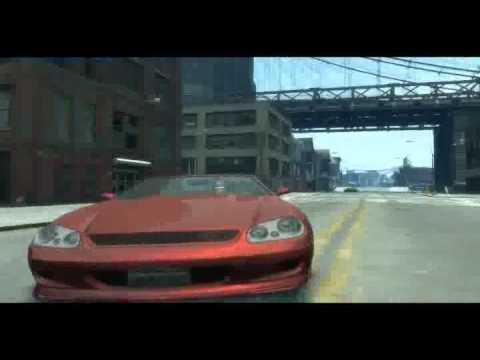 GTA 4 - Красная машина