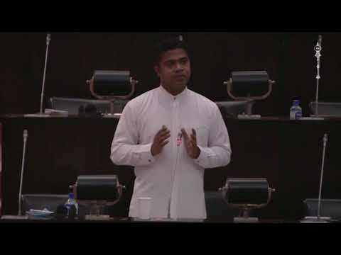 Nalinda Jayatisse speaks on 2018 Budget - Ministry of Education