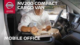 Nissan NV200 Cargo Van - Your Mobile Office