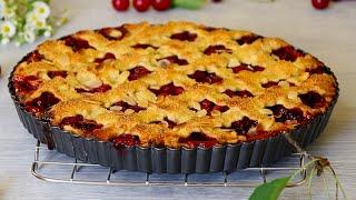 ОЧЕНЬ ВКУСНЫЙ, ПРЕВКУСНЫЙ! АМЕРИКАНСКИЙ ВИШНЕВЫЙ ПИРОГ 🍒 Classic Cherry Pie Recipe ✧ Марьяна