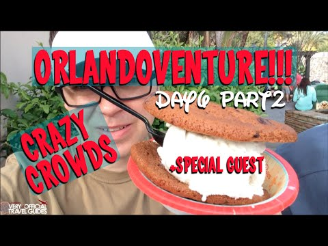 ORLANDOVENTURE!!! Day 6: Huge Crowds + Special Guest Nikol Johnson