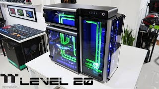 "Custom Pc Build#62  ""Level 20"" An Insanely Elegant and Unique Thermaltake Case."