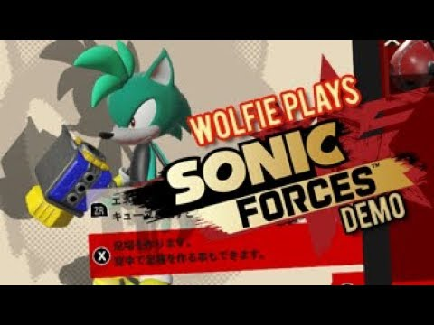 Wolfie Plays Sonic Forces Demo Nintendo Switch