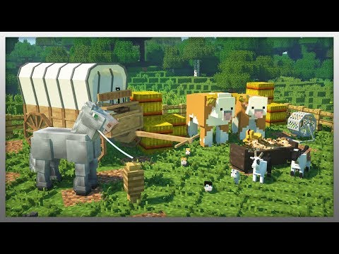 ✔️ Real FARM ANIMALS in Minecraft!