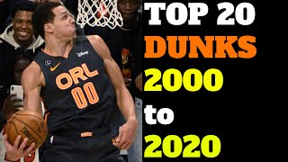 New Top 20 Dunks in NBA Slam Dunk Contest History (2000-2020) Ultimate List