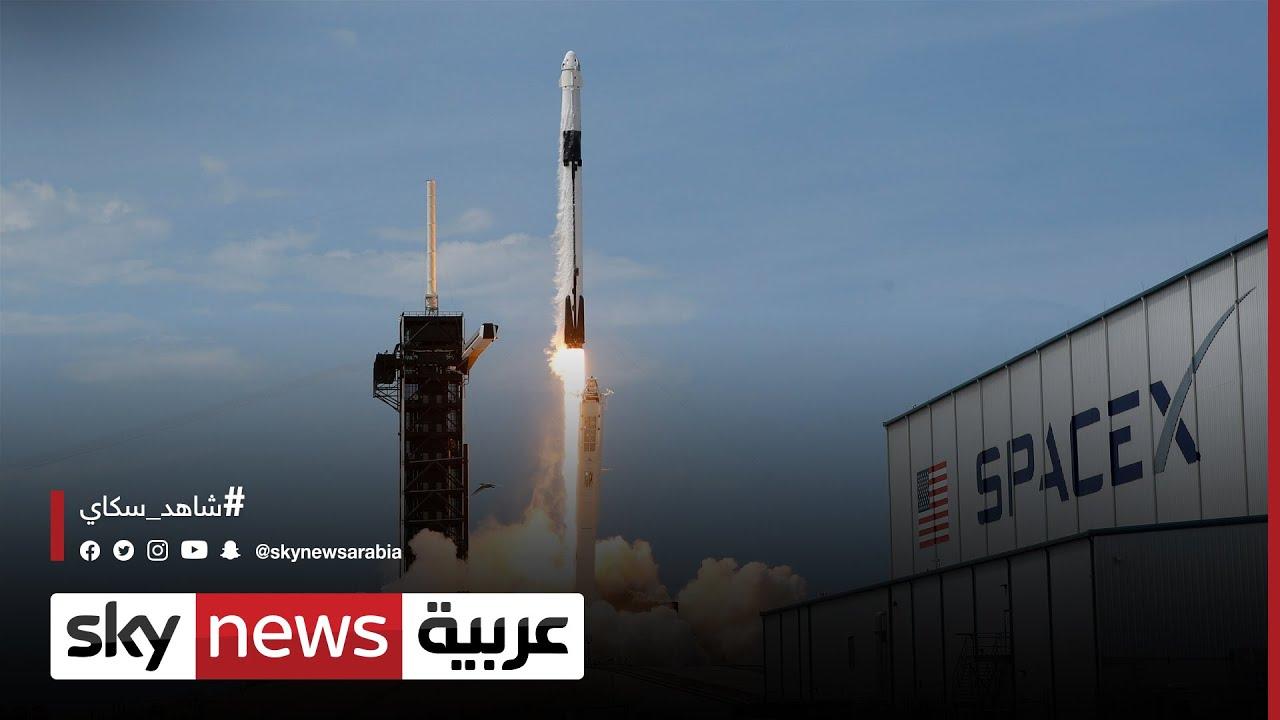 سبيس إكس تمتلك 60% من الرحلات المتوجهة إلى الفضاء  - 19:55-2021 / 7 / 24