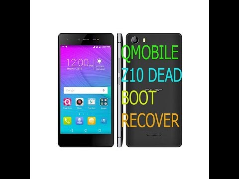 Qmobile Z10 Dead Boot Recover By Flash Tool & Miracle