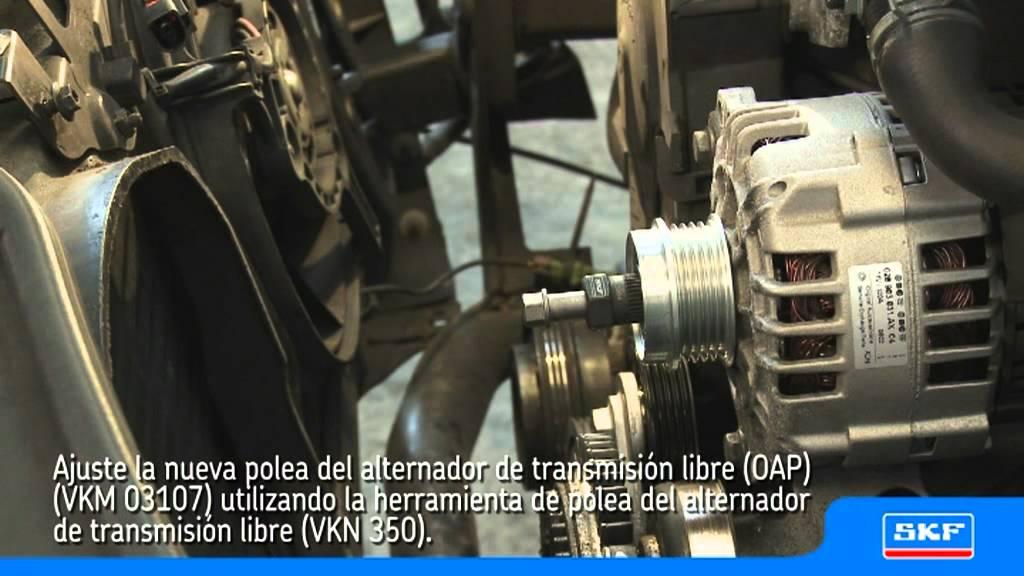 Skf Polea Del Alternador De Transmision Libre  Oap  Vkm 03107 Vw Passat 1 9 Tdi