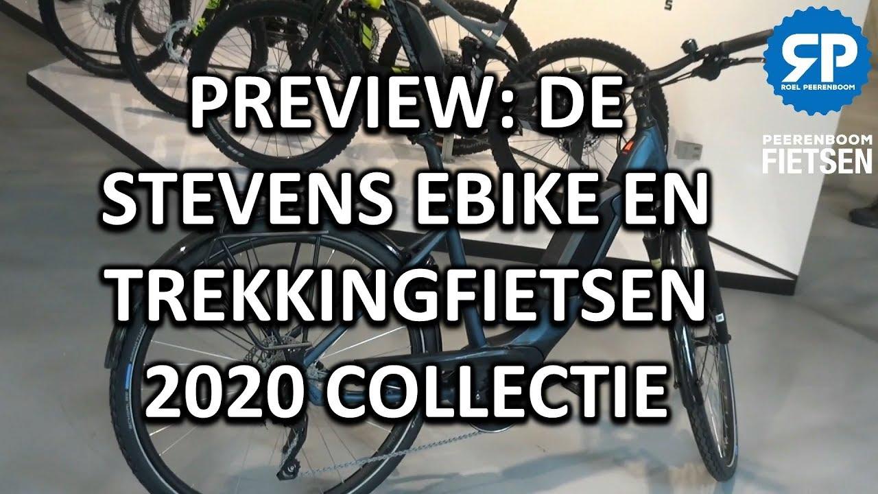 PREVIEW: DE STEVENS EBIKE EN TREKKINGFIETSEN 2020 COLLECTIE