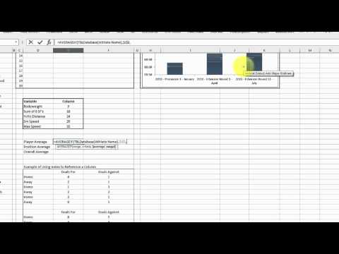 EAF #60 Table and Index Lookups for Fitness Data - Part 2