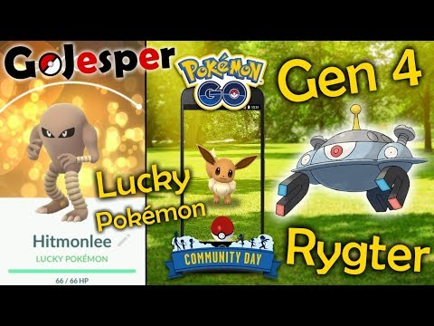Lucky Pokémon, Eevee Community dag og Gen 4 rygter!! (Dansk Pokémon GO) thumbnail