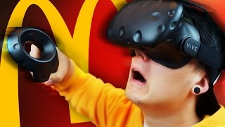 VIRTUAL MCDONALDS | Htc Vive Job Simulator