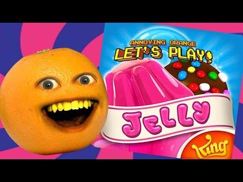 Annoying Orange Plays - Candy Crush Jelly