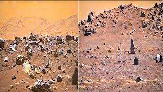 Nasanın Mars Aracı Perseverance Marstan Yeni Gelen Muhteşem HD Görüntüler