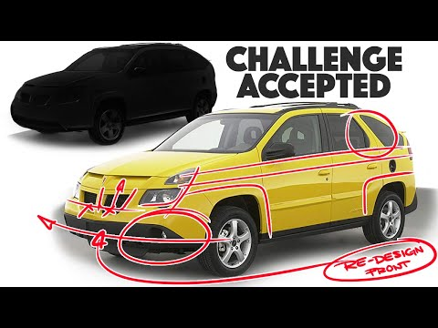 Pontiac Aztek Re-design - Fixing the Unfixable??