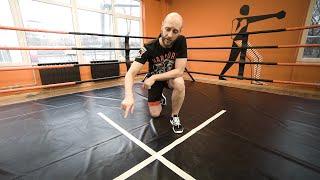 ноги в боксе / Как научиться делать циркуль самостоятельно