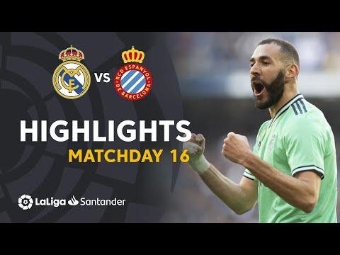 Highlights Real Madrid Vs RCD Espanyol (2-0)