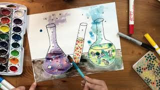 Paint a science experiment