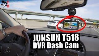 JUNSUN T518 Preview: IS THIS A JOKE? Full HD Car Dash Cam for $19.99?