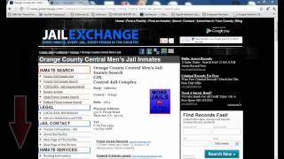 Orange County Inmate Search - Orange County California Jail