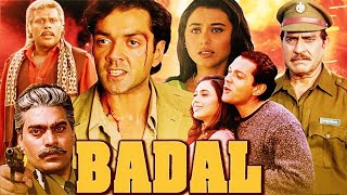 Badal | Bollywood Hindi Action Full Movie | Bobby Deol and Rani Mukerji | NH Sudioz