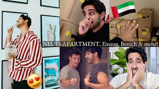 MEIN NEUES APARTMENT in DUBAI, EINRICHTUNG, BESUCH & mehr! aufregend Sami Slimani