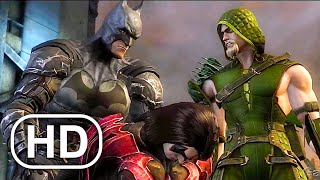 JUSTICE LEAGUE Batman's Son Killed Robin Scene 4K ULTRA HD - Injustice Cinematic