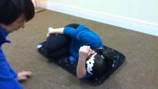 Astronaut Training: A Sound Activated Vestibular -- Visual Protocol