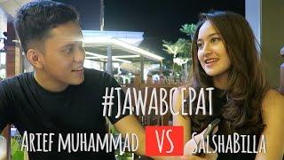 Jawab Cepat (Part1)  - Salshabilla VS Arief Muhammad @Poconggg