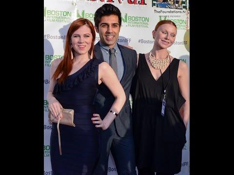 Sonja O'Hara, Jaspal Binning, Karin Agstam at Boston International Film Festival  RED CARPET