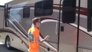 HD VIDEO 2013 FLEETWOOD EXCURSION 35B RV DIESEL FOR SALE USED SEE WWW SUNSETMOTORS COM
