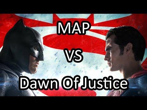 MAP VS 2016: Batman V Superman Dawn Of Justice