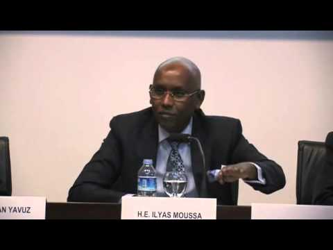 Djibouti Minister of Finance with Turkish Foreign Economic Board part 1