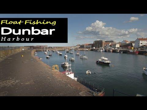 Fishing Dunbar Harbour Scotland
