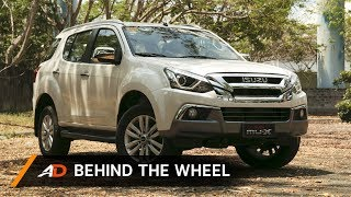 2018 Isuzu mu-X RZ4E 4x2 LS-A Blue Power - Behind the Wheel